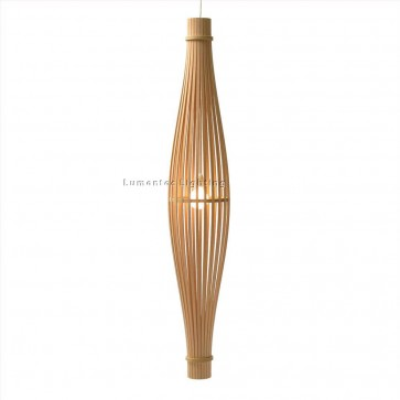 PE0021 Full Reed Assembled pendant light David Trubridge