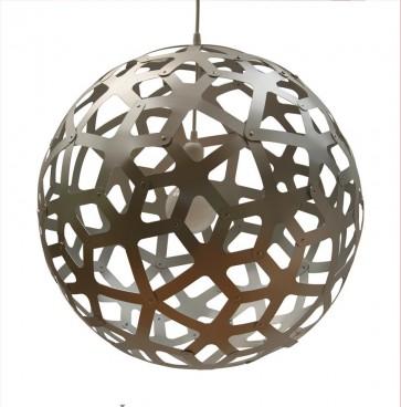 PE0040 Coral Pendant  Aluminium David Trubridge