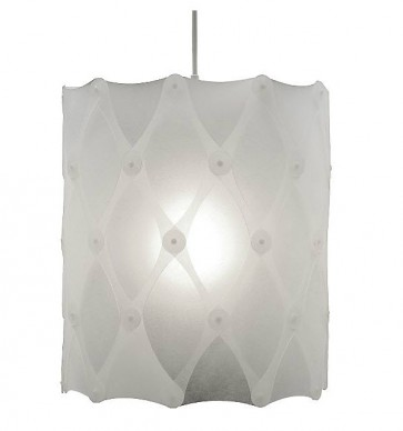 PE0072 Ika half hanging lamp plastic David Trubridge