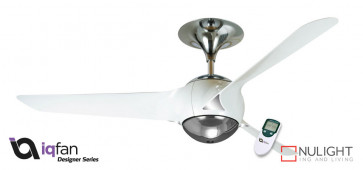 EON- 56 inch 1400mm - 3 Blade Premium Ceiling Fan - White - LCD Remote Control included VTA