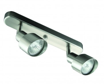 9cm Two Light Bar Ceiling Spotlight Domus Lighting