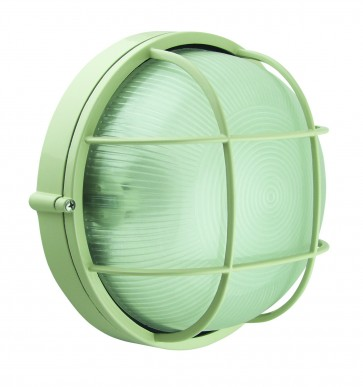 Large Caged Round Bunker Light Domus Lighting