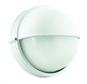 Large Half-Eyelid Round Bunker Light Domus Lighting