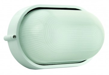 Large Plain Oval Bunker Light Domus Lighting