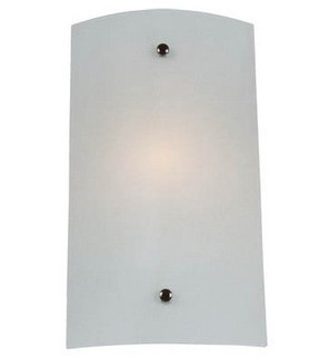Large Wall Sconce with Satin Opal Glass Domus Lighting