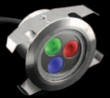 LED Inground Lights Shine RGB with Shine Housing Domus Lighting