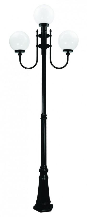 Lisbon Large Three Light Outdoor Post Lantern Domus Lighting