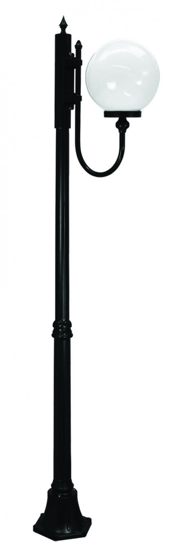 Lisbon Medium One Light Outdoor Post Lantern Domus Lighting
