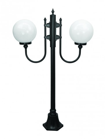 Lisbon Small Two Light Outdoor Post Lantern Domus Lighting