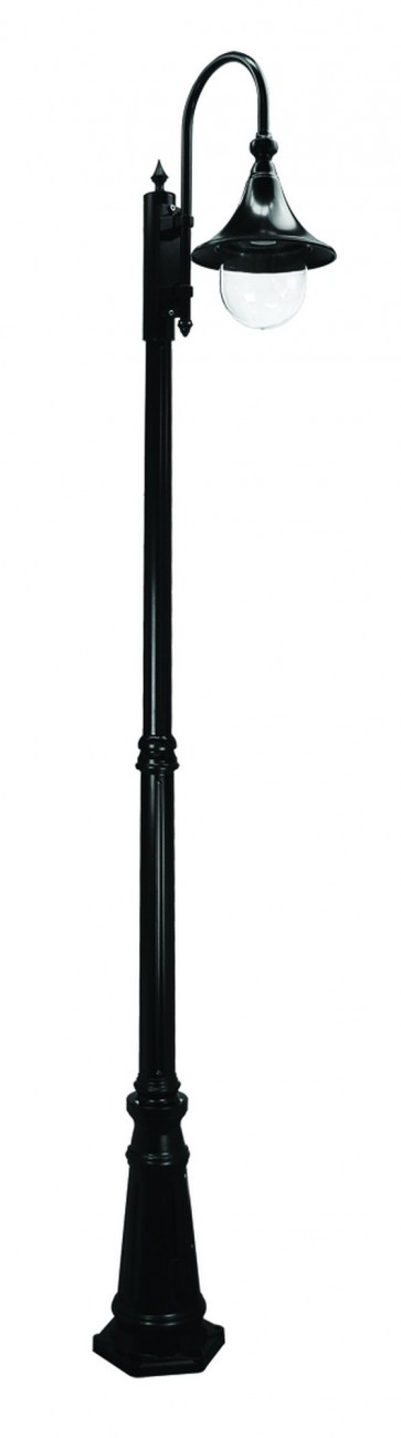 Monaco Large One Light Outdoor Post Lantern Domus Lighting