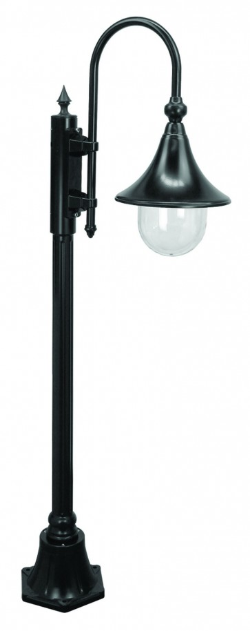 Monaco Small One Light Outdoor Post Lantern Domus Lighting