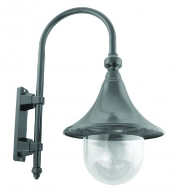 Monaco Small One Light Outdoor Wall Lantern Domus Lighting