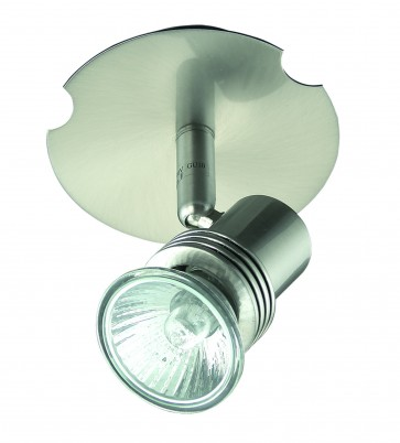One Light Adjustable Ceiling Spotlight Domus Lighting