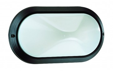 Polycarbonate Oval Bunker Light Domus Lighting