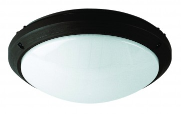 Polycarbonate Round Slimline Bunker Light Domus Lighting