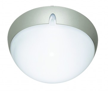 Polycarbonate Round Small Bunker Light Domus Lighting
