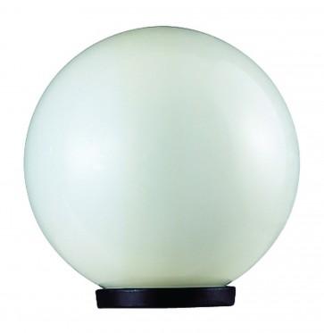 Polycarbonate Spherical Pillar Top Light Domus Lighting