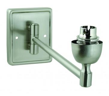Rectangular Base Single Swing Arm with no switch Domus Lighting