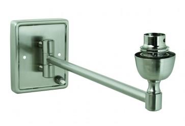 Rectangular Base Single Swing Arm with switch Domus Lighting