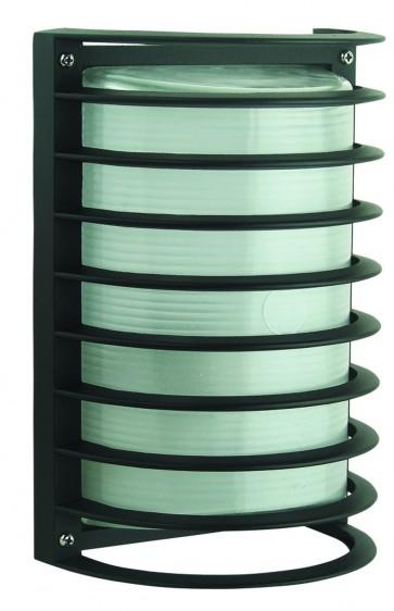 Rectangular Bunker Light with Grille Domus Lighting