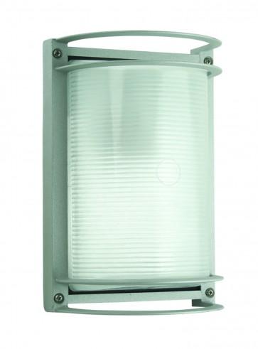 Rectangular Outdoor Bunker Light Domus Lighting