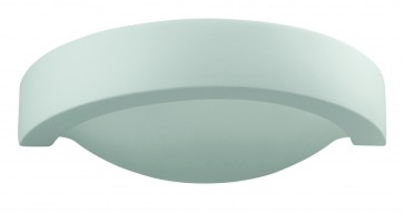 Shape One Light Wall Sconce with Frosted Glass Domus Lighting