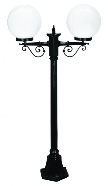 Siena Small Two Light Outdoor Post Lantern Domus Lighting