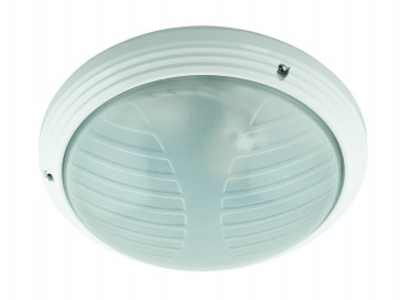 Slimline Outdoor Ceiling Oyster Light Domus Lighting