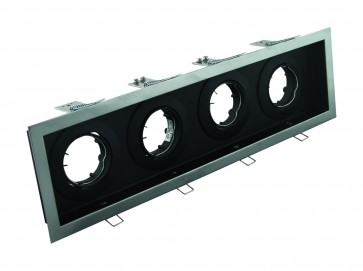 Slotter Recessed Quad Inline Downlight Domus Lighting