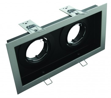 Slotter Recessed Twin Downlight Domus Lighting