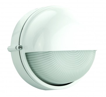 Small Half-Eyelid Round Bunker Light Domus Lighting