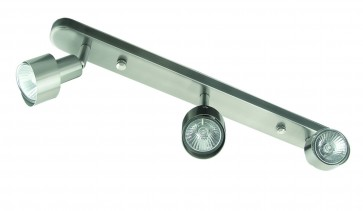 Small Three Light Linear Ceiling Spotlight Domus Lighting