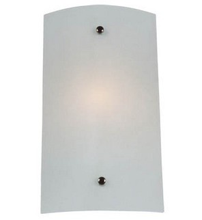 Small Wall Sconce with Satin Opal Glass Domus Lighting