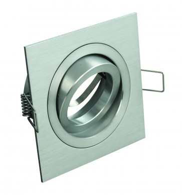 Square Gimble Adjustable Recessed Downlight Domus Lighting