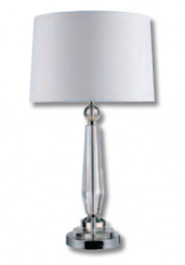 Tara Crystal Table Lamp Domus Lighting