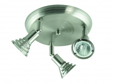 Three Light Adjustable Ceiling Spotlight Domus Lighting
