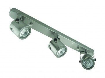 Three Light Bar Ceiling Spotlight Domus Lighting