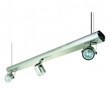 Three Light Wire Suspension Ceiling Spotlight with Transformer Domus Lighting