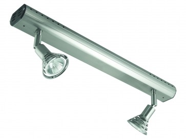Two Light Adjustable Bar Ceiling Spotlight Domus Lighting