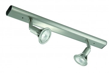 Two Light Large Bar Ceiling Spotlight Domus Lighting