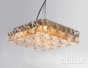 Donatela 8 lights Pendant Light Gold Citilux