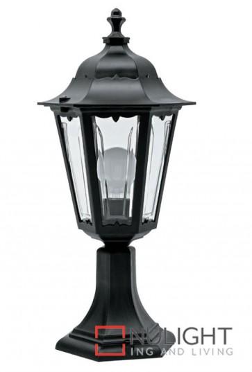 Column Top Hex Lantern Black ASU