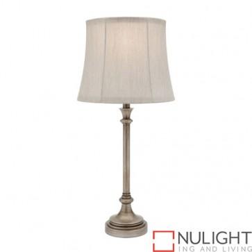 Elise 1 Light Table Lamp Antique Silver COU