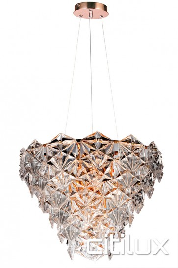 Fairy 6 Lights Pendant Rose Gold Citilux
