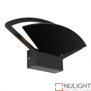 Fiesta 12W LED Wall Light Black COU