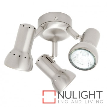 Krypton 3 light Brushed Chrome MEC