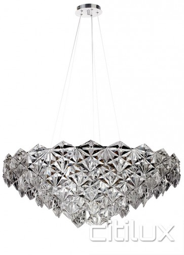 Georgina 9 Lights Pendant Chrome Citilux