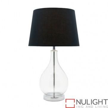 Gina 1 Light Table Lamp Black COU
