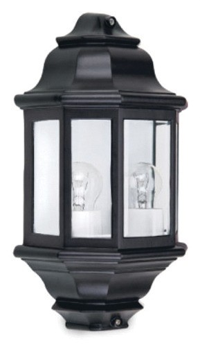 Perth Two Light Exterior Wall Lantern in Australian Powder Coat Hermosa Lighting