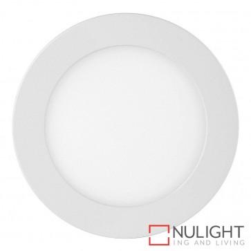 White Round Recessed Panel Light 9W 240V Led Cool White HAV